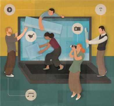 reseau-social-entreprise Les enjeux des réseaux sociaux d'entreprise