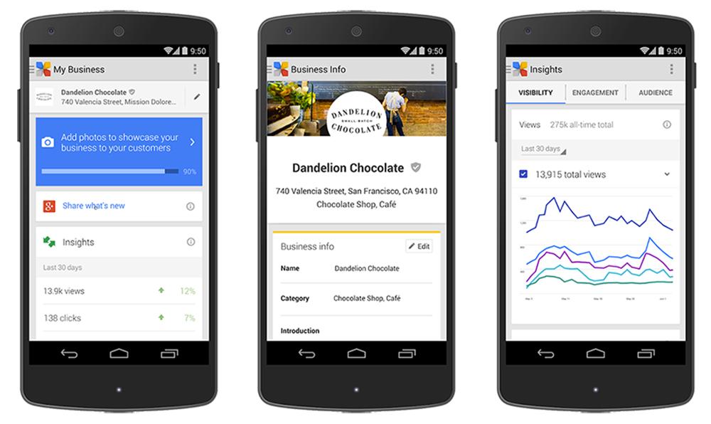 google-insights-business1 Google +  se dote de nouveaux outils statistiques