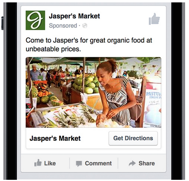 annonce-facebook-locale Facebook proposera des publicités locales