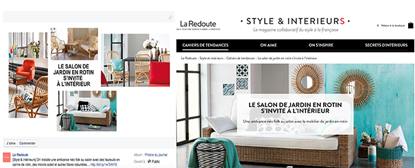 La-Redoute-VF [Cas pratique] Le social media dans l'E-Commerce