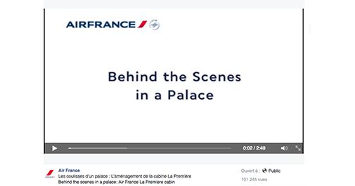 Air-France-vidéo [Cas pratique] Les compagnies aériennes sur le Social Media