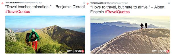 Turkish-Airlines-voyage [Cas pratique] Les compagnies aériennes sur le Social Media