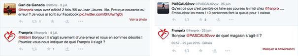 franprix-twitter-social-media-grande-distribution [Cas pratique] La grande distribution sur les réseaux sociaux