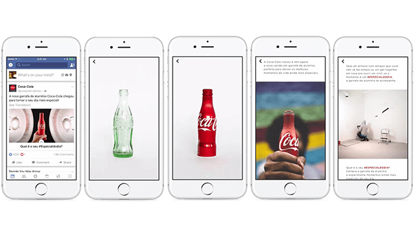 facebook-canvas-coca-cola Ce que Facebook Canvas va apporter aux marques
