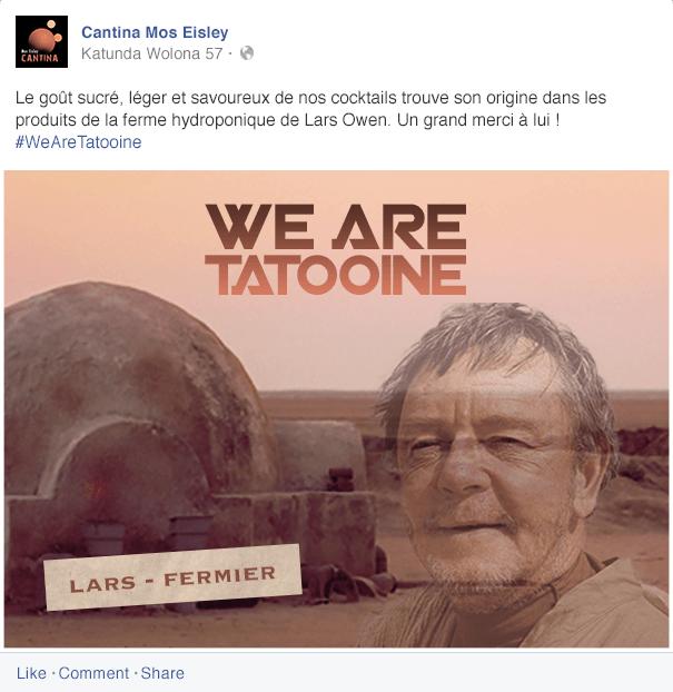 we-are-tatooine Réhausser le standing de la Cantina de Tatooine - Partie 2
