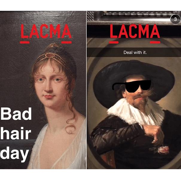 Lacma-museum-musee-snapchat Les pratiques de Community Management sur Snapchat