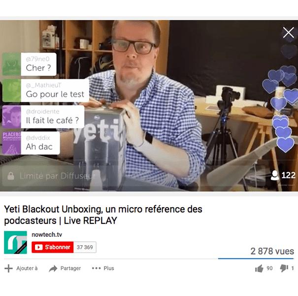 Periscope-nowtechtv-live S'inspirer des différentes stratégies live des influenceurs