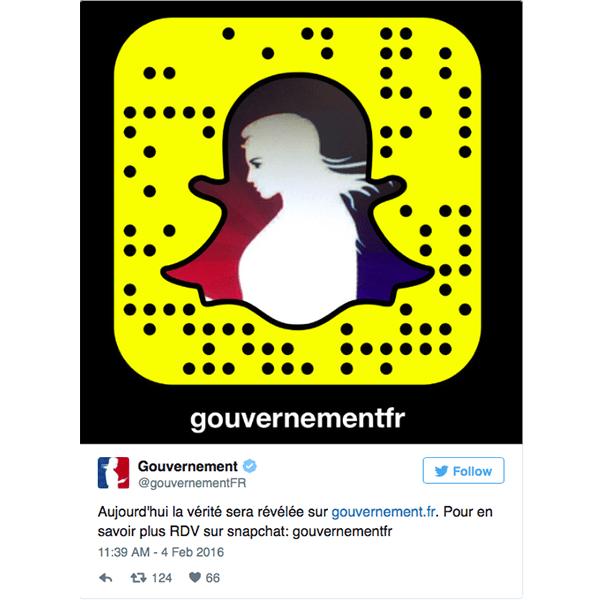 gouvernement-snapchat Les pratiques de Community Management sur Snapchat
