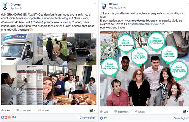Glowee-crowdfunding-Ulule La stratégie Social Media d'une campagne de crowdfunding