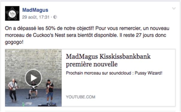 Madmagus-crowdfunding-contreparties La stratégie Social Media d'une campagne de crowdfunding