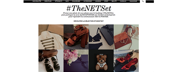 The-net-Set [Cas pratique] Le social media dans l'E-Commerce