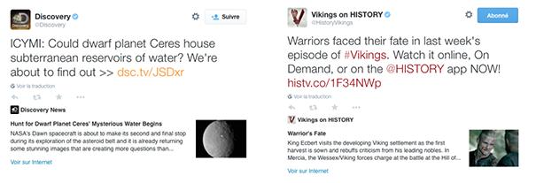 disco-vikings [Cas pratique] Twitter Cards & secteur de l'entertainment