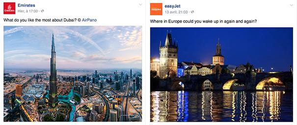 Emirates-Easy-Jet-Voyages [Cas pratique] Les compagnies aériennes sur le Social Media