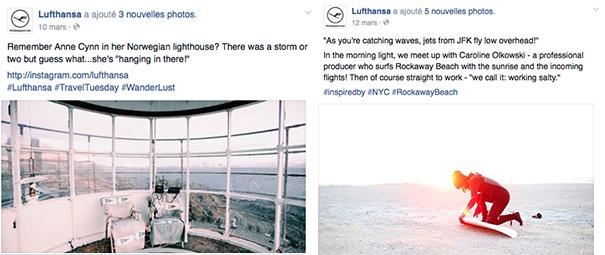 Lufthansa-professionels [Cas pratique] Les compagnies aériennes sur le Social Media