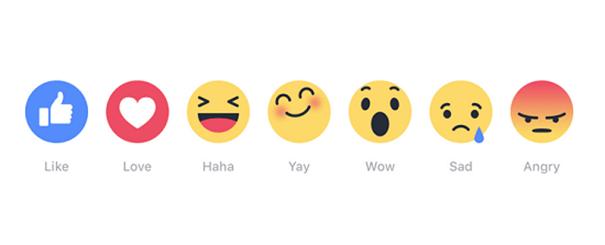 emojis_facebook_stratégie_marque Les six emojis de Facebook, un impact pour les marques ?