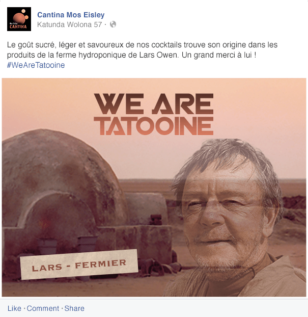 we-are-tatooine Réhausser le standing de la Cantina de Tatooine - Partie 2