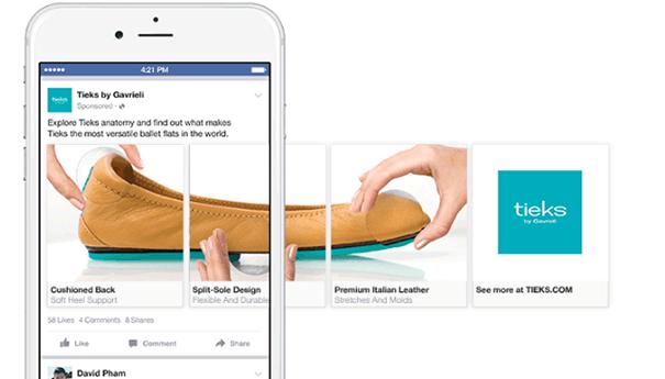 Carrousel-facebook-socialmedia Comment les marques utilisent le Carrousel sur Facebook