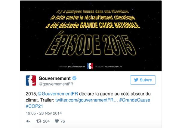 gouvernement-reseaux-sociaux-star-wars La stratégie du gouvernement sur les réseaux sociaux