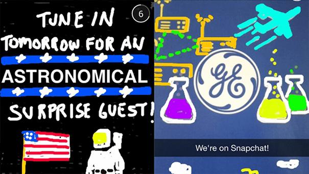 Generalelectric-snapchat Les pratiques de Community Management sur Snapchat
