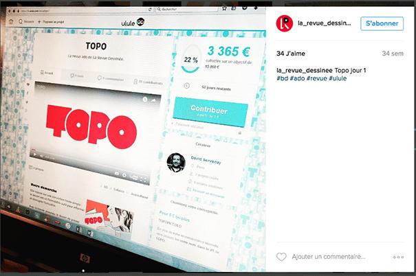 Topo-crowdfunding-ulule La stratégie Social Media d'une campagne de crowdfunding