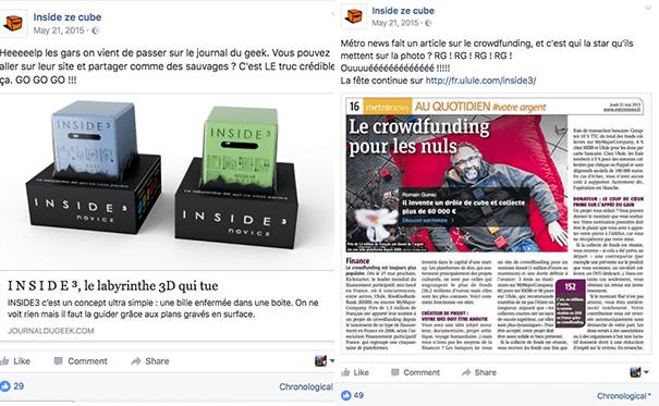 insidezecube-crowdfunding-fundraising La stratégie Social Media d'une campagne de crowdfunding