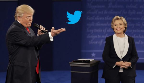 Clinton-trump-twitter-politique Ce qu'il faut comprendre de la transition opérée par Twitter