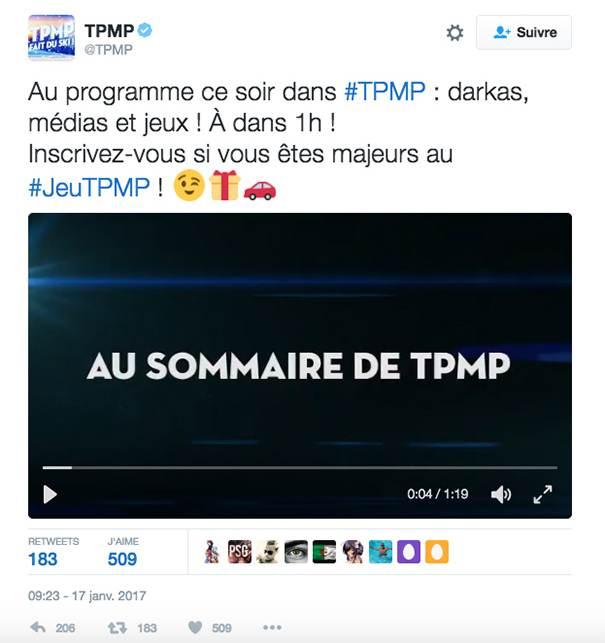 social-tv-tpmp-2 Social TV : le mariage des réseaux sociaux et de la télévision