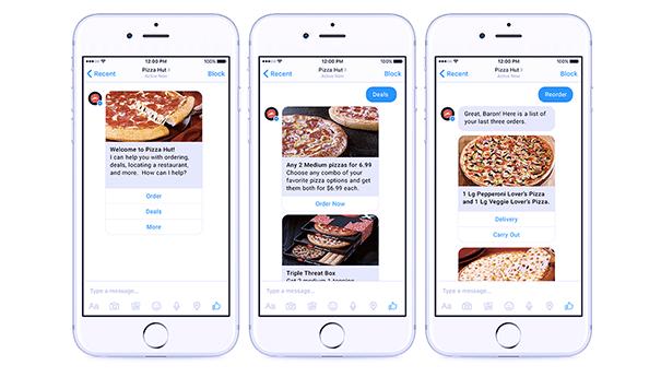 bot-recommandation-pizza-hut Développer un bot de marque en 4 étapes clés