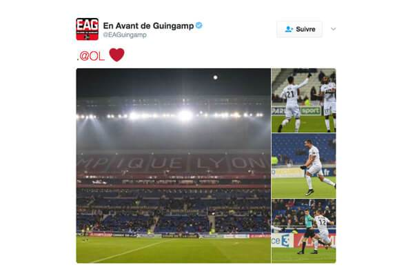 ligue1-guingamp Ligue 1 : quand le classement des clubs influe sur la tonalité de leur discours