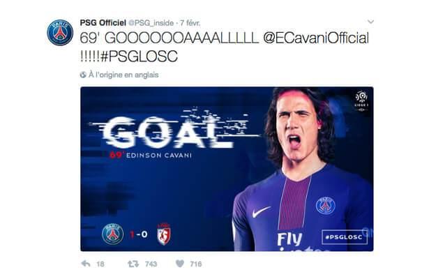 ligue1-psg-goal Ligue 1 : quand le classement des clubs influe sur la tonalité de leur discours