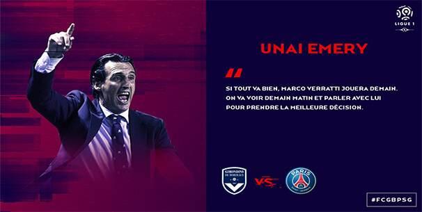 ligue1-unaiemery-psg Ligue 1 : quand le classement des clubs influe sur la tonalité de leur discours