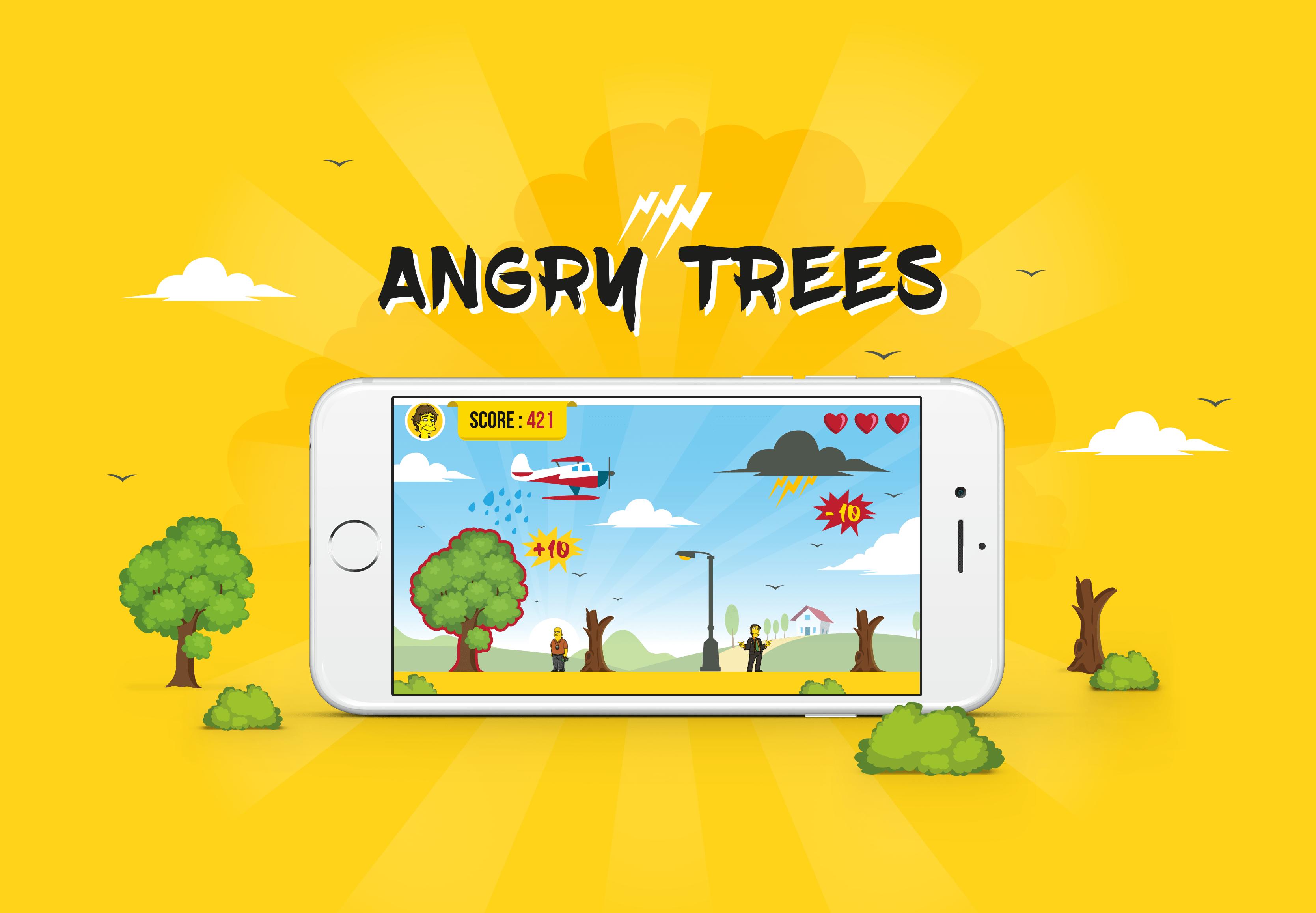 angry-trees Restaurer l'image de la centrale nucléaire de Springfield (2/2)
