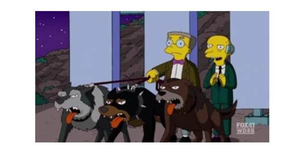 burns-chiens Restaurer l'image de la centrale nucléaire de Springfield (1/2)