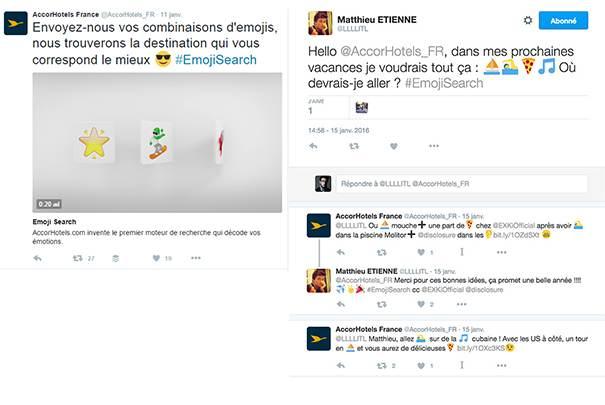 accorhotels L'emoji, un levier de communication pour les marques