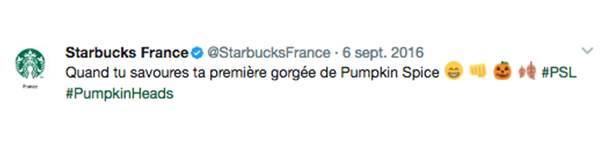 starbucks L'emoji, un levier de communication pour les marques
