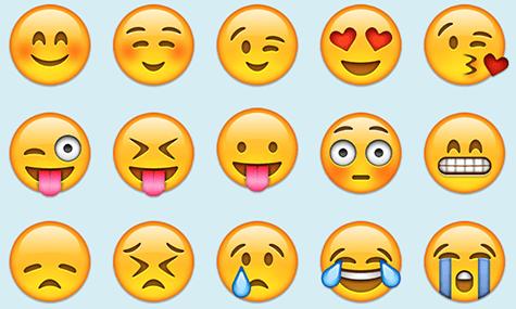 les marques int grent l 39 emoji leur strat gie social media. Black Bedroom Furniture Sets. Home Design Ideas