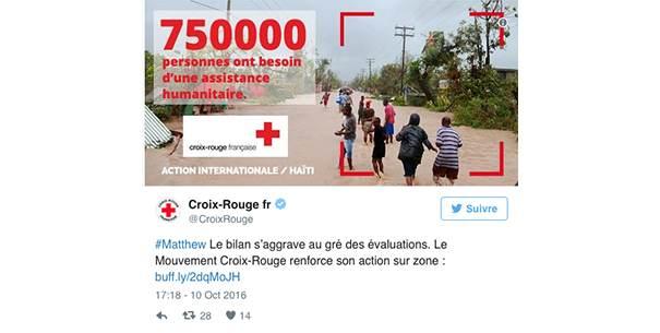 Croixrouge La stratégie social media des ONG